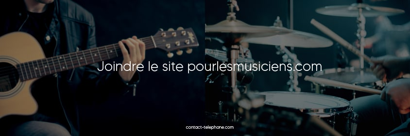Contact pourlesmusiciens