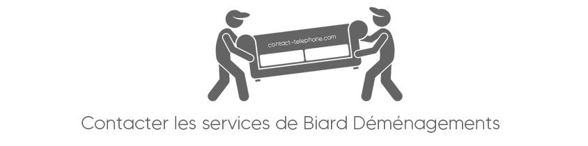 Contacter Biard Demenagements