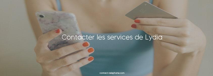 Contacter Lydia
