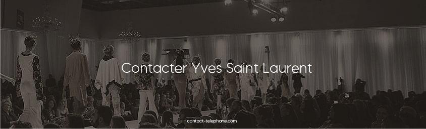 Contacter Yves Saint Laurent