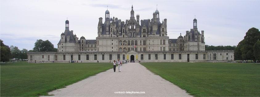 Contacter le Chateau de Chambord