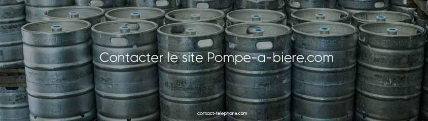 Pompe-a-biere contact