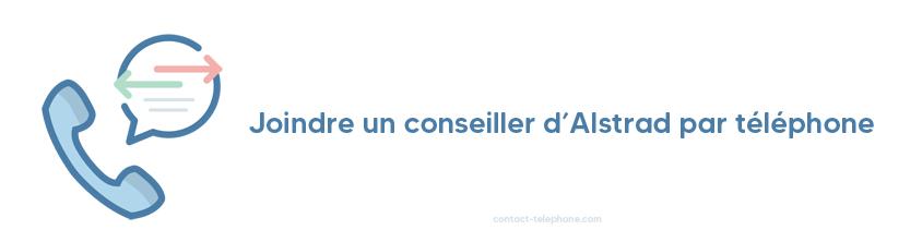 Alstrad contact par telephone
