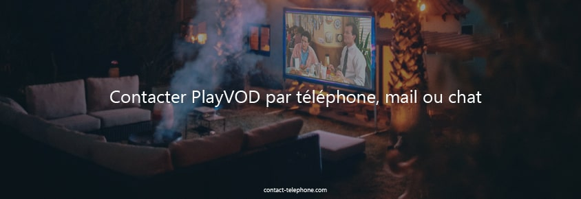 Contacter PlayVOD